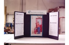 TD003 - Custom Table Top Display for Non-Profits & Associations